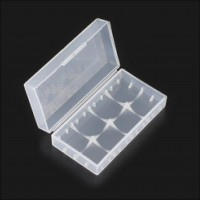 Plastic Storage Case for 20700/21700 Battery
