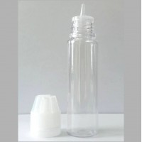 Wide Mouth Empty E-Juice Bottle 60ml