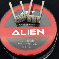 Coilology Ni80 Alien Handcrafted Coils 2pcs/box