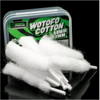 Wotofo Agleted Organic Cotton 3mm 30pcs/pack