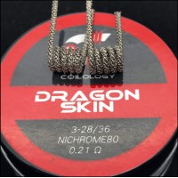 Coilology Ni80 Dragon Skin Handcrafted Coils 2pcs/box