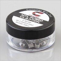 Coilology SS316L MTL Fused Clapton Premade Coils 10pcs/box