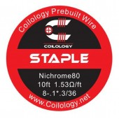 Coilology Ni80 Staple Wire