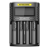Nitecore UMS4 4 slot Quick Charger with LCD Screen