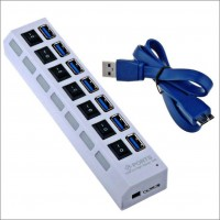 7 Port USB 3.0 Super Speed Hub