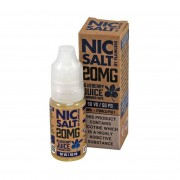Flawless Blueberry Juice 10ml Salt Nic 20mg E-Liquid
