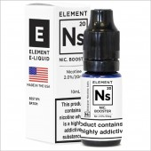 NS20 Nicotine Booster by Element 10ml Salt Nic 20mg E-Liquid