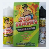 Cool Summer Mojito Bravo + 65ml VG in Gorilla Bottle (20ml for 100ml)