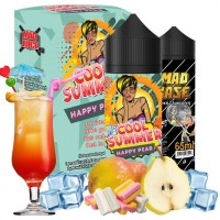 Mad Juice Cool Summer Happy Pear + 65ml VG in Gorilla Bottle (20ml for 100ml)