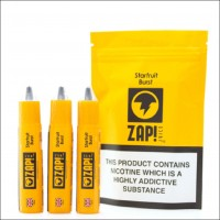 Zap Juice Starfruit Burst 30ml (3x10ml) E-Liquid