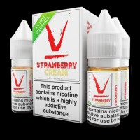 Verdict Vapors Strawberry Cream 40ml (4x10ml) E-Liquid