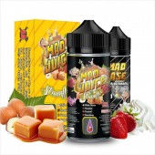 Mad Shake Strawfee + 65ml VG in Gorilla Bottle (20ml for 100ml)
