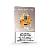 Kilo 1K Pods Smooth Tobacco 20mg 1.5ml (Pack of 4pc)