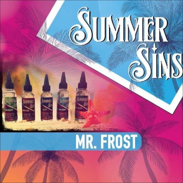 3c6a9dfe4 Summer Sins Mr.Frost Shake (12ml for 60ml)