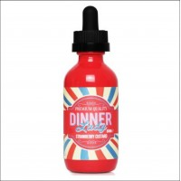 Dinner Lady Strawberry Custard 50ml Shortfill + Nic Shot