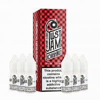 Just Jam Strawberry Doughnut 60ml (6x10ml) E-Liquid