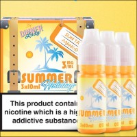 Summer Holidays Sun Tan Mango 30ml (3x10ml) E-Liquid