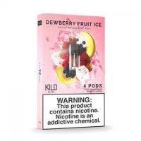 Kilo 1K Pods Dewberry Fruit Ice 20mg 1.5ml (Pack of 4pc)
