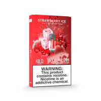 Kilo 1K Pods Strawberry Ice 20mg 1.5ml (Pack of 4pc)