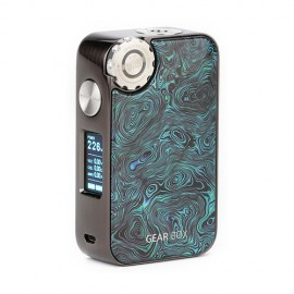 ECOFRI Gear Wireless Charging LED Box Mod Gunmetal