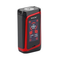 SMOK MORPH 219 Touch Screen TC Box MOD Black Red