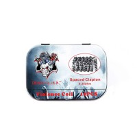 Demon Killer Spaced Clapton Coils 10pcs/box