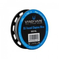 Vandy Vape SS316L FUSED CLAPTON Wire 10ft / 3m