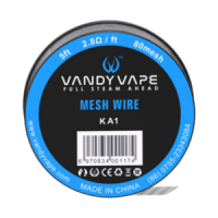 Vandy Vape KA1 MESH Wire 5ft / 1.5m