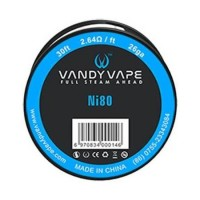 Vandy Vape Ni80 26ga Wire 30ft / 9.1m