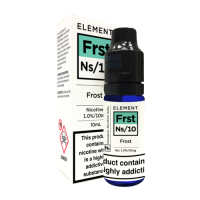 ELEMENT Frost NS/10 10ml Salt Nic 10mg E-Liquid