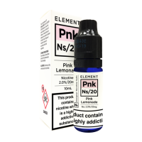ELEMENT Pink Lemonade NS/20 10ml Salt Nic 20mg E-Liquid