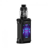 Geekvape Aegis X 200W TC Kit with Zeus Tank Stealth Black (2 x Batteries 18650 INCLUDED)