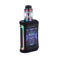 Geekvape Aegis X 200W TC Kit with Cerberus Tank Rainbow Black (2 x Batteries 18650 INCLUDED)