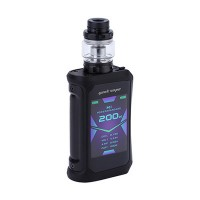 Geekvape Aegis X 200W TC Kit with Cerberus Tank Stealth Black (2 x Batteries 18650 INCLUDED)