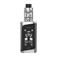 SMOK MORPH 219W TC Kit with TFV Mini V2 Tank Black & Prism Chrome (2 x Batteries 18650 INCLUDED)