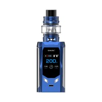 SMOK R-Kiss 200W TC Kit with TFV8 Baby V2 5ml Tank Navy Blue and Chrome (2 x Batteries 18650 INCLUDED)