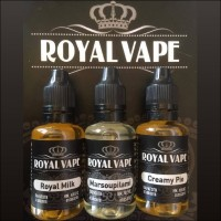 Royal Vape Royal Milk 3x10ml E-Liquid
