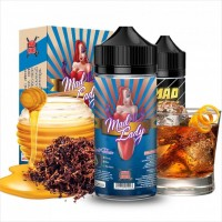 Mad Juice Mad Lady Pirate Tobacco +65ml VG in Gorilla Bottle (20ml for 100ml)