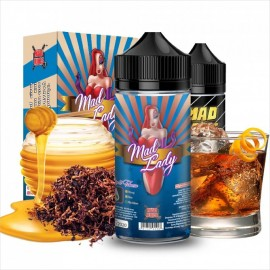 Mad Lady Pirate Tobacco +65ml VG in Gorilla Bottle
