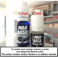 MAD BASE Booster Combo 10ml + 5ml 20mg 70VG/30PG